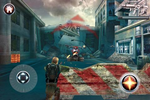 Terminator Salvation: The official game - LITE version screenshot #1