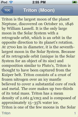 Triton - Neptune's Moon screenshot #3