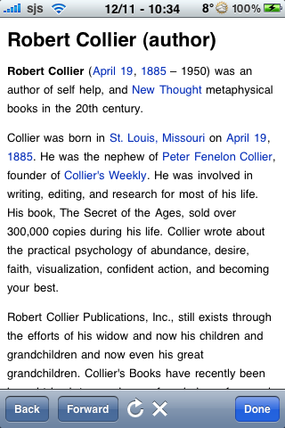 Robert Collier Quotes screenshot #1