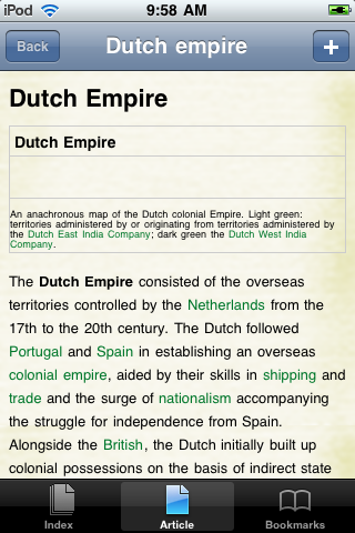 The Dutch Empire Study Guide screenshot #1