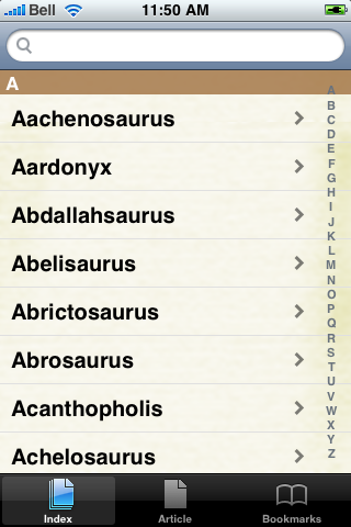 Dinosaurs Study Guide screenshot #3