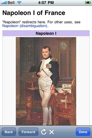 Napoleon Bonaparte Quotes screenshot #1