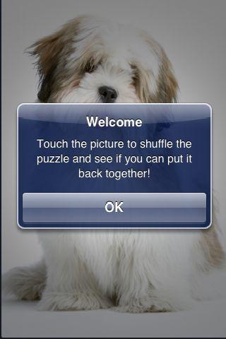 SlidePuzzle - Lhasa Apso screenshot #2