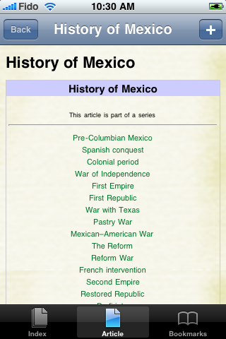 History of Mexico Study Guide screenshot #1