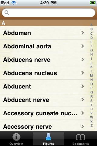 Anatomy Terms Pocket Book screenshot #2