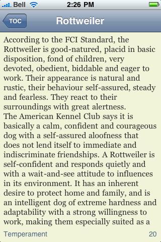 The Rottweiler Book screenshot #2