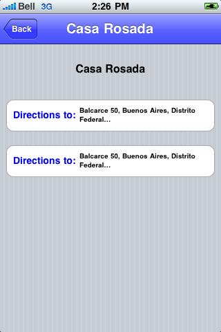 Buenos Aires Sights screenshot #3