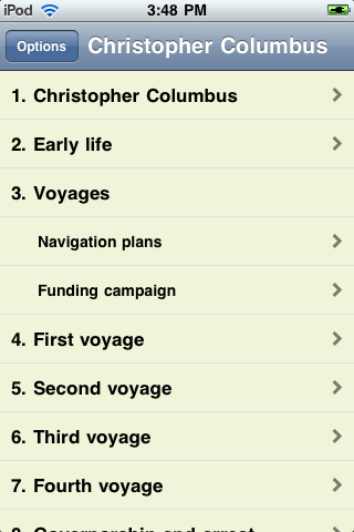 Christopher Columbus - Just the Facts screenshot #1