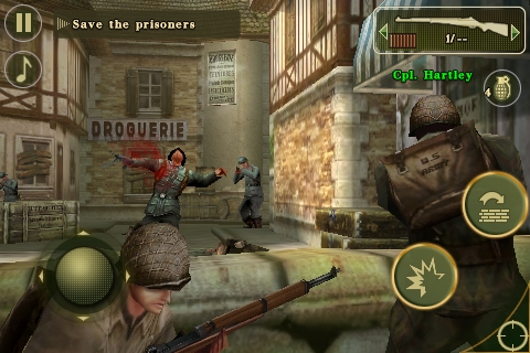 Brothers In Arms® 2: Global Front FREE screenshot #3