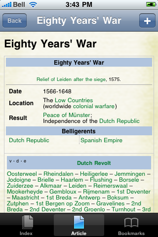 The Eighty Years' War Study Guide screenshot #1