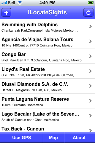 Playa del Carmen Sights screenshot #3