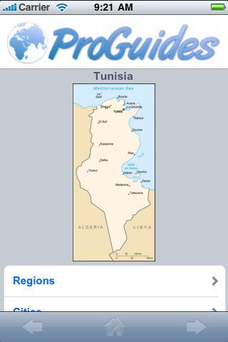 ProGuides - Tunisia screenshot #1