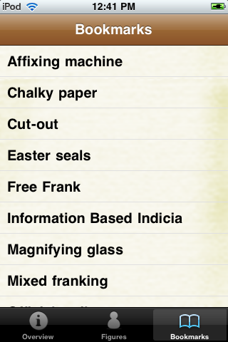 Stamp Collecting Terminology screenshot #5