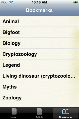 Cryptozoology Study Guide screenshot #3