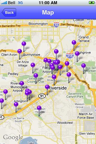 Riverside, California Sights screenshot #1