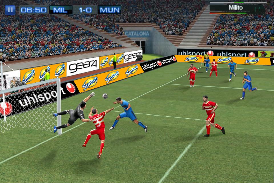 Real Soccer 2011 FREE screenshot #5