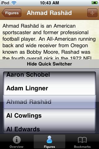 All Time Buffalo Football Roster screenshot #3