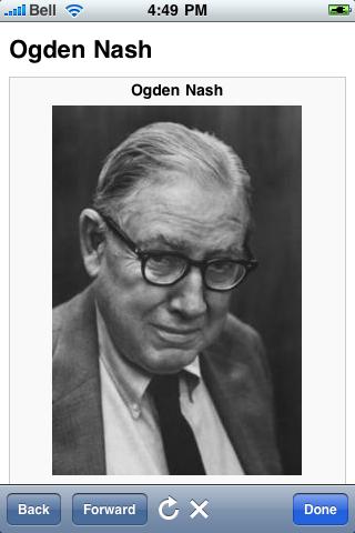 Ogden Nash Quotes screenshot #1
