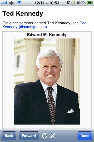 Ted Kennedy Quotes screenshot #1