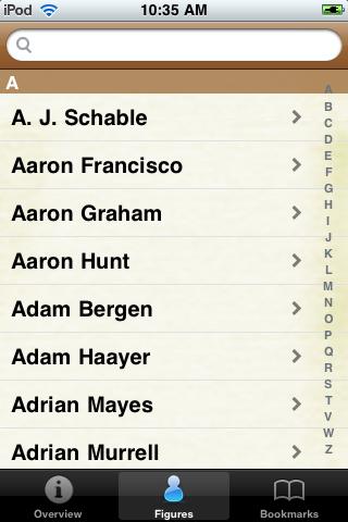 All Time Arizona Football Roster screenshot #1