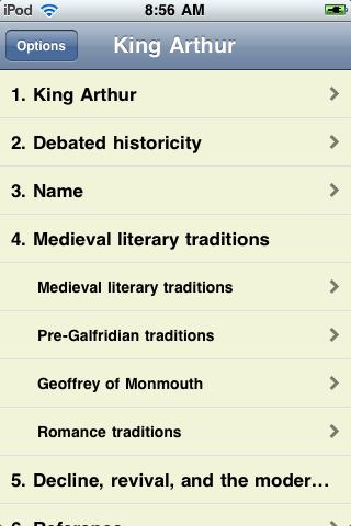 King Arthur - Just the Facts screenshot #1
