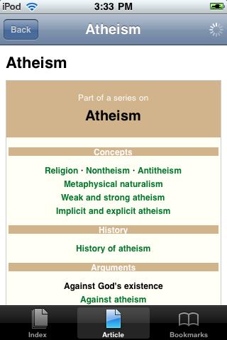 Atheism Study Guide screenshot #1