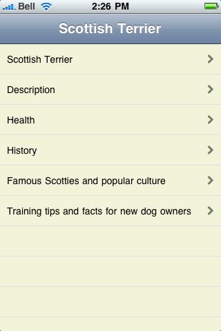 The Scottish Terrier Book screenshot #1