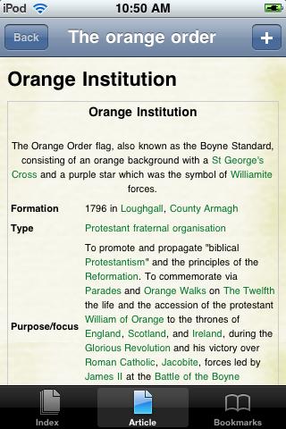 The Orange Order Study Guide screenshot #1