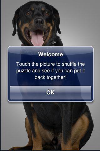 SlidePuzzle - Rottweiler screenshot #3