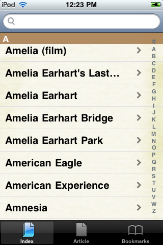 Amelia Earhart Study Guide screenshot #2