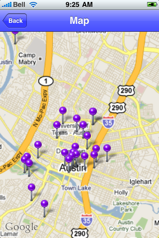 Austin, Texas Sights screenshot #1