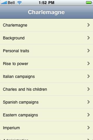 Charlemagne screenshot #1