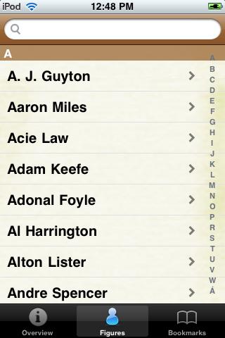 All Time Golden State Basketball Roster screenshot #1