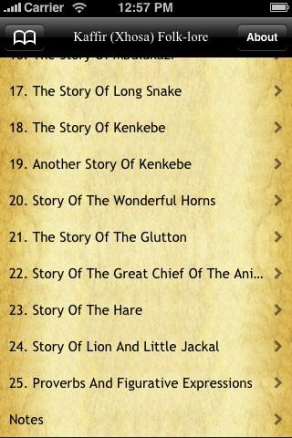 Kaffir (Xhosa) Folk Tales