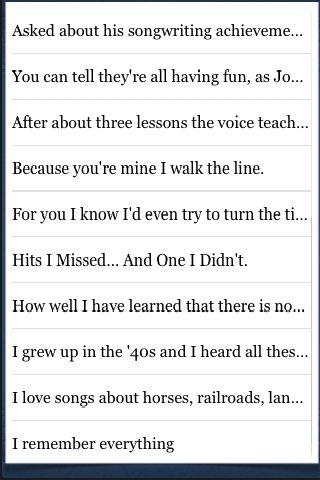 Johnny Cash Quotes screenshot #2