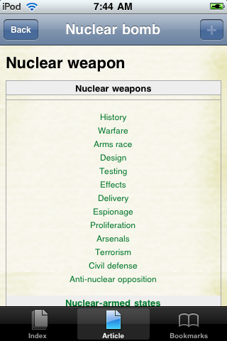 Nuclear Weapons Study Guide screenshot #1