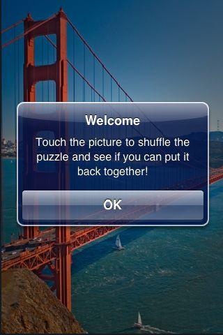 slidePuzzle - Golden Gate Bridge screenshot #2