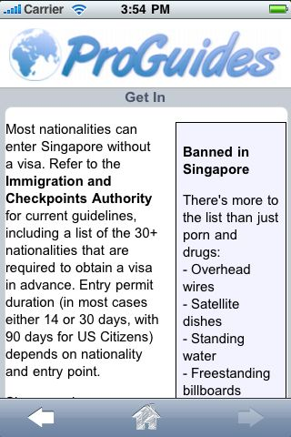 ProGuides - Singapore screenshot #2