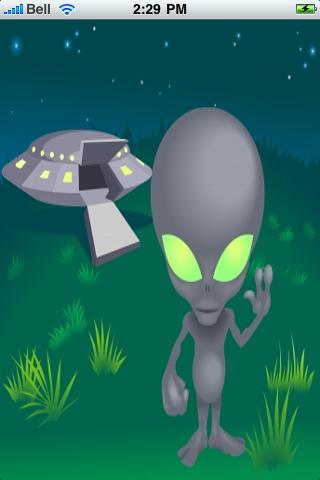 Alien Coming in Peace Slide Puzzle screenshot #1