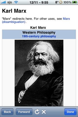 Karl Marx Quotes screenshot #1