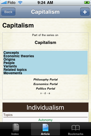 Capitalism Study Guide screenshot #1