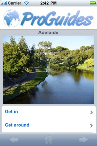 ProGuides - Adelaide screenshot #1