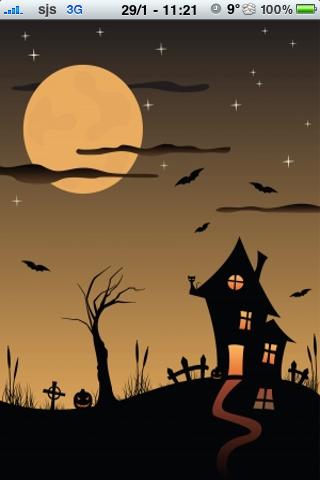 Haunted House Slide Puzzle screenshot #1