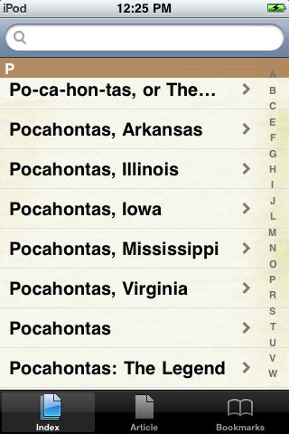 Pocahontas Study Guide screenshot #2