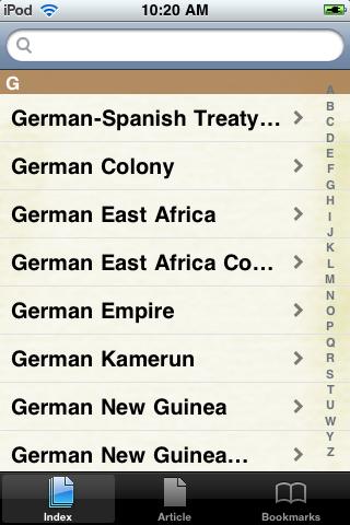 The German Colonial Empire Study Guide screenshot #2