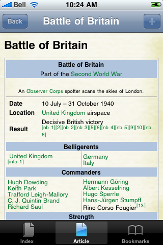 Battle of Britain Study Guide screenshot #1