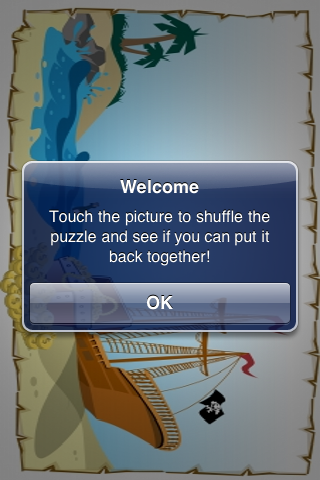 Pirate Treasure Slide Puzzle screenshot #2