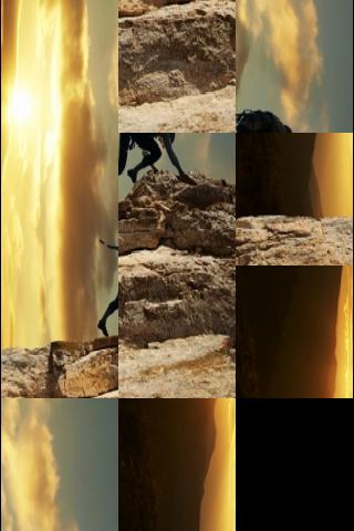 Rock Climbing Slide Puzzle screenshot #3