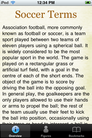 Soccer Terms screenshot #1