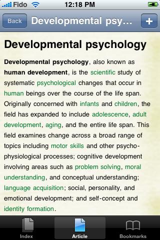 Developmental Psychology Study Guide screenshot #1